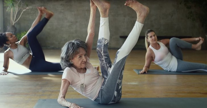 This 100-Year-Old Yoga Teacher Says Age Is Nothing but a Number