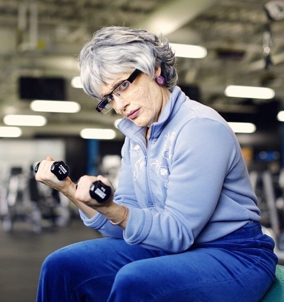 WATCH: Meet The Powerlifting Grandma And Train Like Her