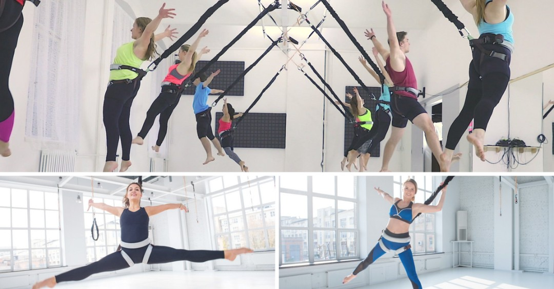 This New Trend Exercise Lets You Fly around like Peter Pan