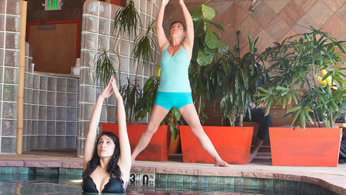 Aqua Yoga: Just Add Water to Your Yoga Routine