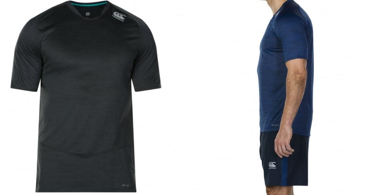 Canterbury Mens Vapodri + Drill T-Shirt Review