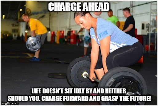 Charge ahead