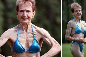 "75-Year-Old Bodybuilding Grandma Reveals Her ""Nude Food"" Diet That Helps Keep Her in Shape"