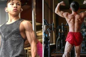 Meet the Young Bodybuilder Tristyn Lee Who is Already Ripped At 15